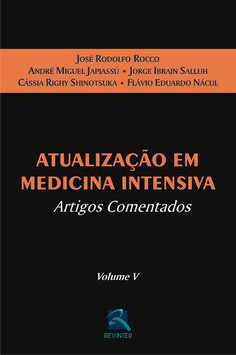 Livro Atualização Em Medicina Intensiva  - LIVRARIA ODONTOMEDI
