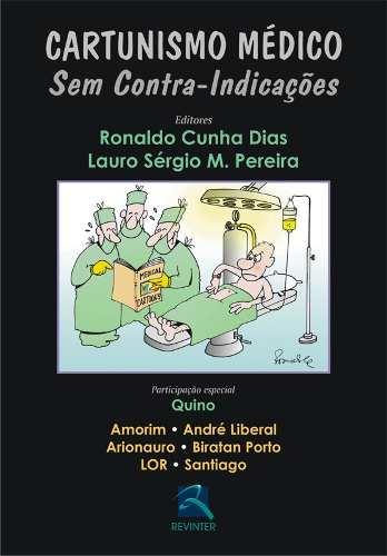 Livro Cartunismo Médico  - LIVRARIA ODONTOMEDI
