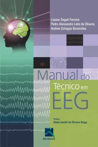 Livro Manual Do Técnico Em Eeg  - LIVRARIA ODONTOMEDI