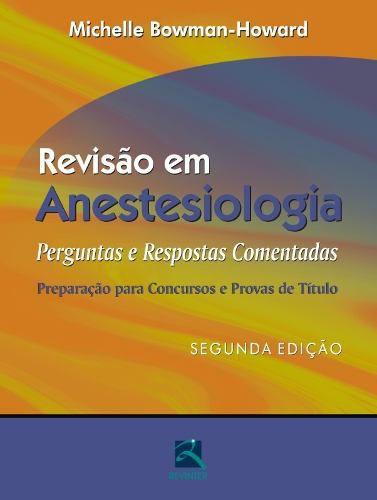 Livro Revisão Em Anestesiologia  - LIVRARIA ODONTOMEDI