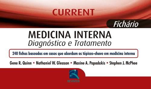 Livro Current - Medicina Interna  - LIVRARIA ODONTOMEDI