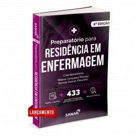 Livro Preparatório Para Residência Em Enfermagem Comentada 2ª Ed.  - LIVRARIA ODONTOMEDI