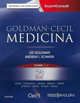 Goldman-cecil Medicina - Vol. 1 E 2 - 25ª Ed. 2018  - LIVRARIA ODONTOMEDI