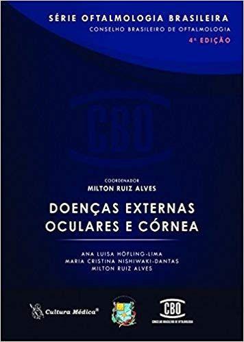 Livro Doenças Externas Oculares E Córnea 4ª Ed.  - LIVRARIA ODONTOMEDI
