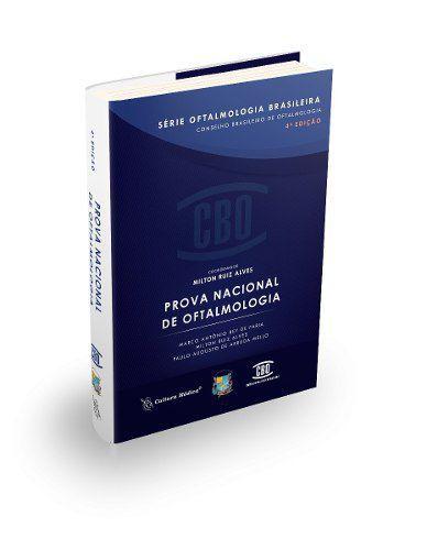 Livro Série De Oftalmologia Brasileira - Prova Nacional  - LIVRARIA ODONTOMEDI