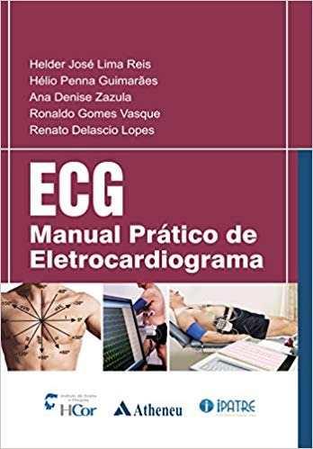 Livro Ecg: Manual Prático De Eletrocardiograma  - LIVRARIA ODONTOMEDI