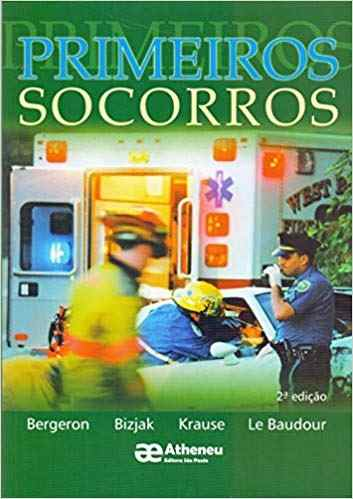 Livro Primeiros Socorros - 2ª Edição  - LIVRARIA ODONTOMEDI
