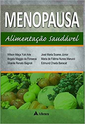 Livro Menopausa Alimentação Saudável  - LIVRARIA ODONTOMEDI