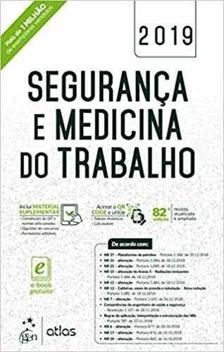 Livro Segurança E Medicina Do Trabalho 82ª Ed. 2019, 10 Exemplares  - LIVRARIA ODONTOMEDI