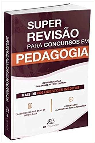 Livro Super Revisão Para Concursos Em Pedagogia  - LIVRARIA ODONTOMEDI