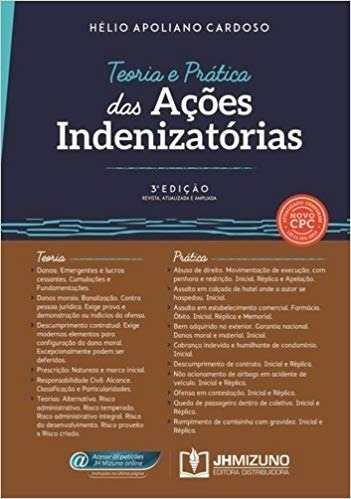 Livro Teoria E Prática Das Ações Indenizatórias  - LIVRARIA ODONTOMEDI