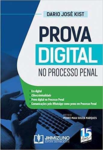 Livro Prova Digital No Processo Penal  - LIVRARIA ODONTOMEDI