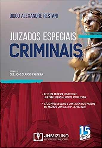 Livro Juizados Especiais Criminais  - LIVRARIA ODONTOMEDI