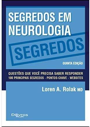 Livro Segredos Em Neurologia  - LIVRARIA ODONTOMEDI