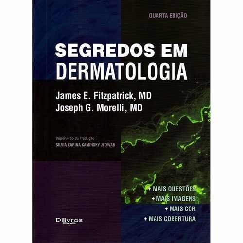 Segredos Em Dermatologia  - LIVRARIA ODONTOMEDI
