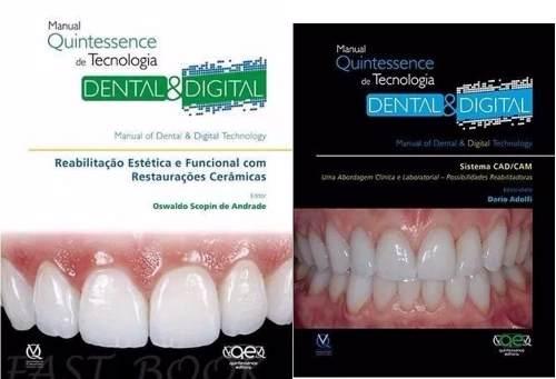 Manu. Qi Tecn. Dental E Digital Sist Cadcam Skopin; Adolfi  - LIVRARIA ODONTOMEDI