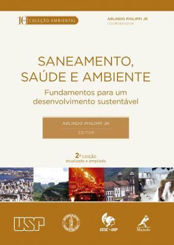 Livro Saneamento, Saúde E Ambiente  - LIVRARIA ODONTOMEDI