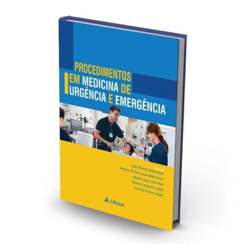 Procedimentos Em Medicina De Urgencia E Emergencia  - LIVRARIA ODONTOMEDI