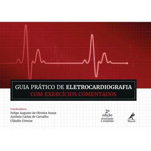 Livro Guia Prático De Eletrocardiografia Com Exerc Coment  - LIVRARIA ODONTOMEDI
