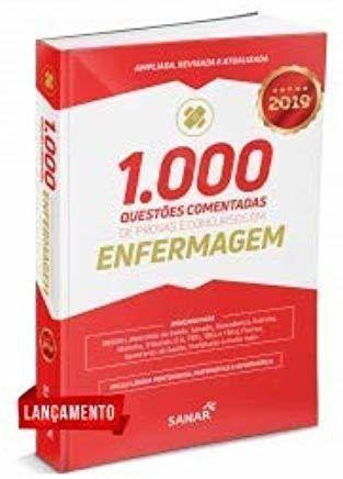 Livro 1.000 Questões Comentadas Provas E Concursos Em Enfermagem  - LIVRARIA ODONTOMEDI