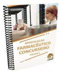 Livro Apostilas Do Farmacêutico Concurseiro - Volume 2  - LIVRARIA ODONTOMEDI