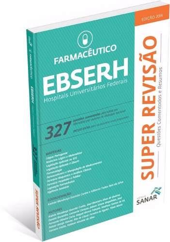 Livro Super Revisão Farmacêutico - Ebserh 327 Questões Comentadas  - LIVRARIA ODONTOMEDI