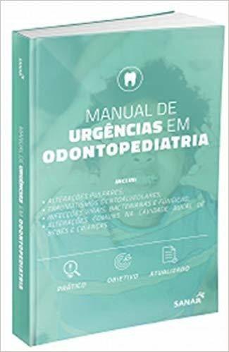 Livro Manual De Urgências Em Odontopediatria  - LIVRARIA ODONTOMEDI