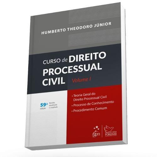 Curso De Direito Processual Civil - Vol. I  - LIVRARIA ODONTOMEDI