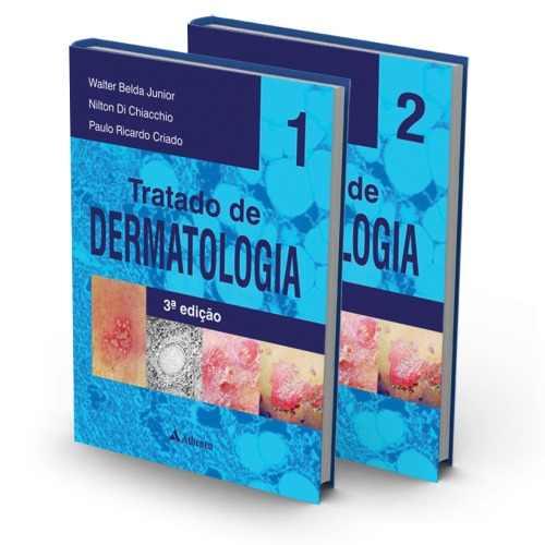 Tratado De Dermatologia Belda Júnior 3ª Edição Lacrado  - LIVRARIA ODONTOMEDI