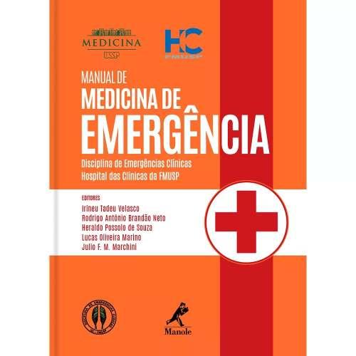 Livro Manual De Medicina De Emergência  - LIVRARIA ODONTOMEDI