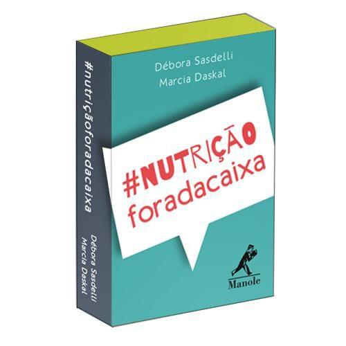 Livro Nutrição Fora Da Caixa Cartas  - LIVRARIA ODONTOMEDI