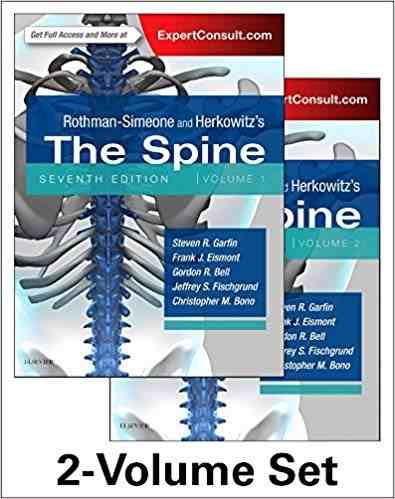 Livro Rothman-Simeone And Herkowitzs The Spine 2 Vol  - LIVRARIA ODONTOMEDI