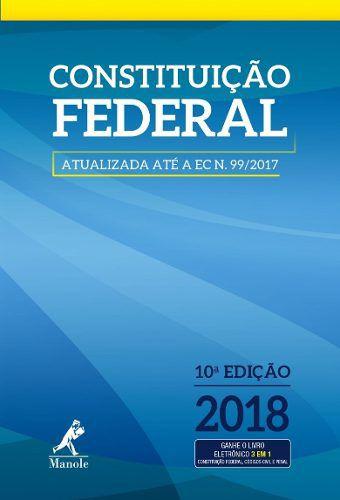 Constituição Federal  - LIVRARIA ODONTOMEDI