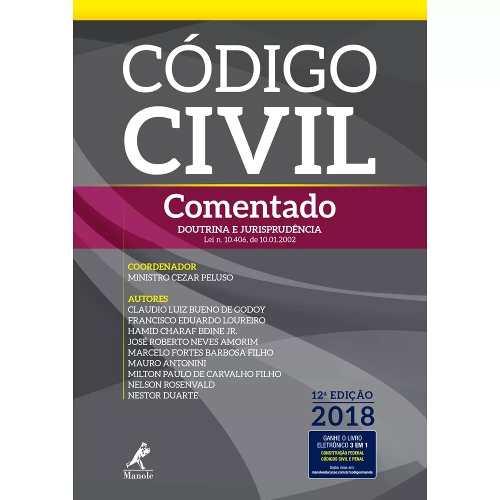 Código Civil Comentado  - LIVRARIA ODONTOMEDI