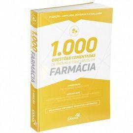Livro 1.000 Questões Comentadas Provas Farmácia 2ª  - LIVRARIA ODONTOMEDI