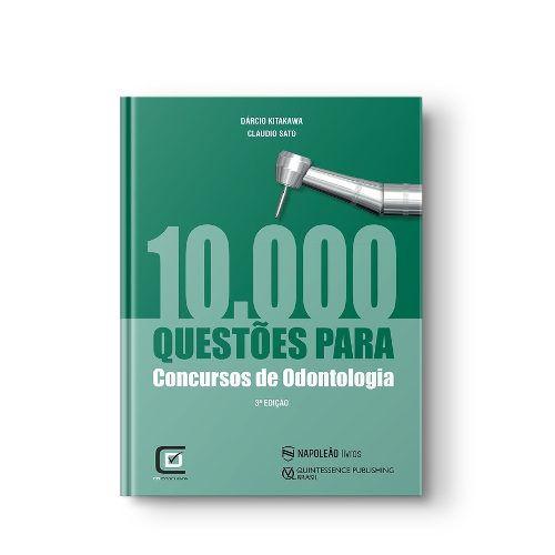 Livro 10.000 Questões Para CoEdncursos De Odontologia 3ª  - LIVRARIA ODONTOMEDI