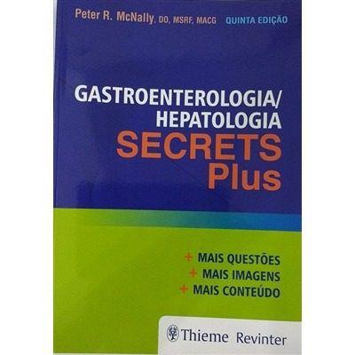 Livro Secrets Plus Gastroenterologia Hepatologia  - LIVRARIA ODONTOMEDI