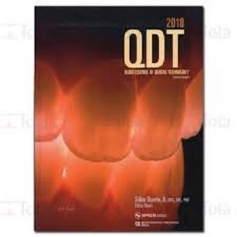 Livro Qdt 2018 Quintessence Of Dental Technology  - LIVRARIA ODONTOMEDI