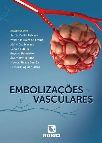 Livro Embolizações Vasculares  - LIVRARIA ODONTOMEDI