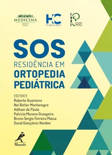 Sos Residência Em Ortopedia Pediátrica  - LIVRARIA ODONTOMEDI