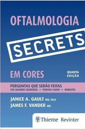 Livro Secrets - Oftalmologia Em Cores  - LIVRARIA ODONTOMEDI