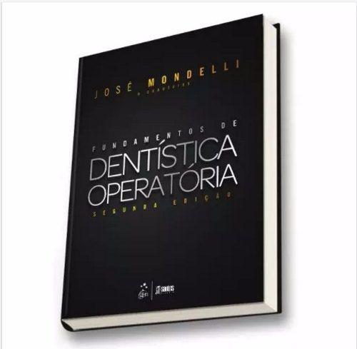 Livro Fundamentos De Dentística Operatória - Mondelli  - LIVRARIA ODONTOMEDI