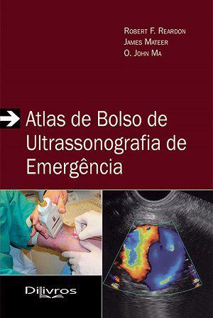Livro Atlas De Bolso De Ultrassonografia De Emergencia  - LIVRARIA ODONTOMEDI