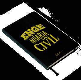 Livro Caderno de Anotações da Engenharia Civil  - LIVRARIA ODONTOMEDI