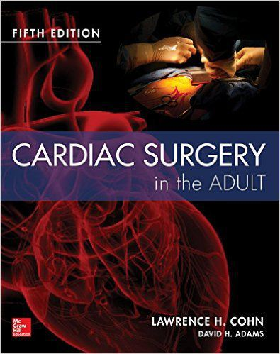 Livro Cardiac Surgery In The Adult  - LIVRARIA ODONTOMEDI
