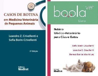 Casos De Rotina Em Medicina Veterinária + Boolavet Bulário  - LIVRARIA ODONTOMEDI