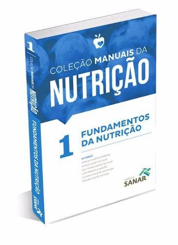 Coleção Manuais Da Nutrição Para Concursos E Residência  vol 1,2,3,4 E 5  - LIVRARIA ODONTOMEDI