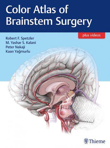 Livro Color Atlas of Brainstem Surgery  - LIVRARIA ODONTOMEDI