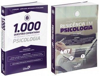 Combo 1000 Questões Psicologia 2ª Ed E 467 Questões Residência Psicologia  - LIVRARIA ODONTOMEDI