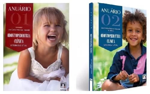 Combo Anuário Odontopediatria Clínica Integr Vol 01 E 02   - LIVRARIA ODONTOMEDI